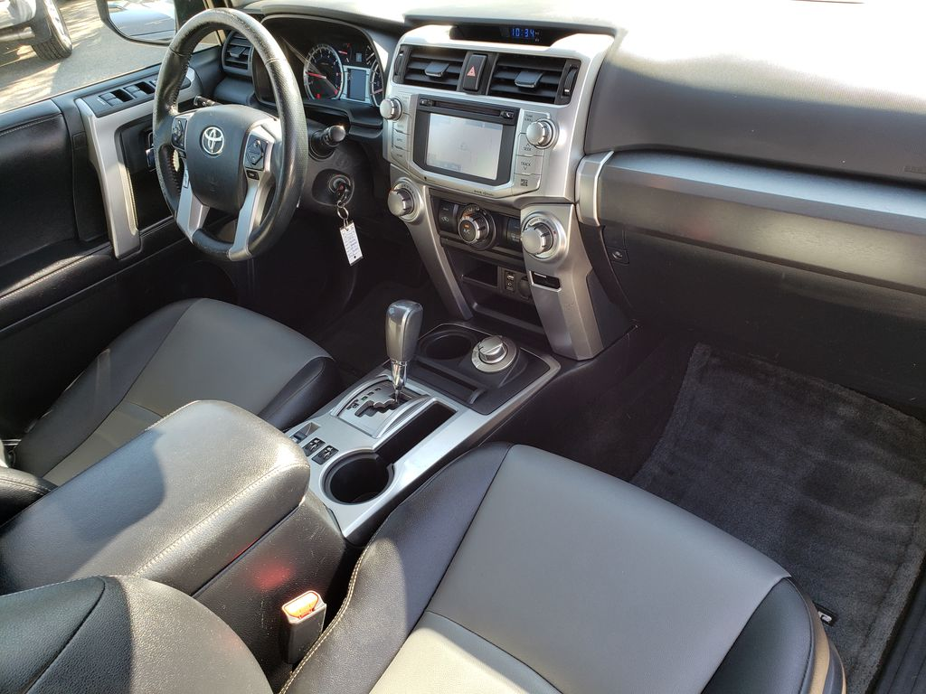 Silver[Classic Silver Metallic] 2016 Toyota 4Runner Right Front Interior Door Panel Photo in Kelowna BC