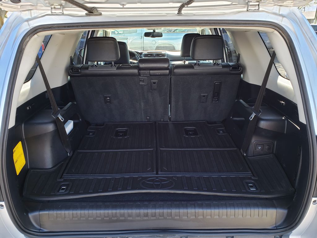 Silver[Classic Silver Metallic] 2016 Toyota 4Runner Trunk / Cargo Area Photo in Kelowna BC