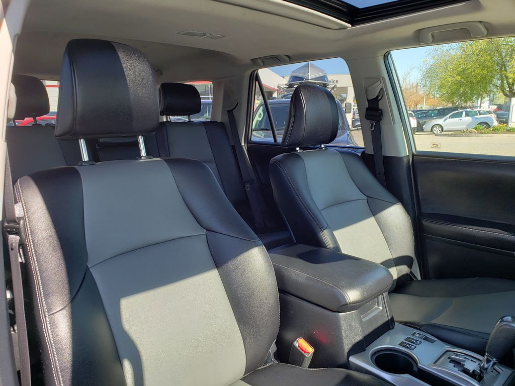 Silver[Classic Silver Metallic] 2016 Toyota 4Runner Right Side Front Seat  Photo in Kelowna BC