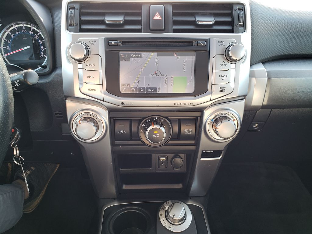 Silver[Classic Silver Metallic] 2016 Toyota 4Runner Central Dash Options Photo in Kelowna BC
