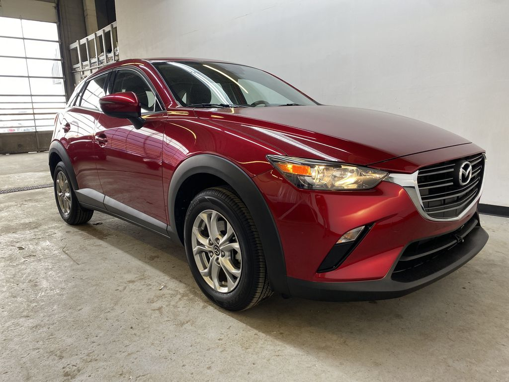 RED 2019 Mazda CX-3 GS - Apple CarPlay, Backup Camera, Heated Seats Right Front Corner Photo in Edmonton AB