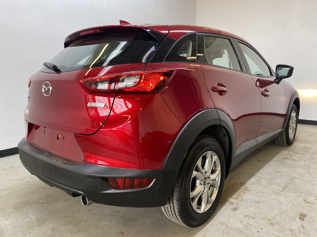 RED 2019 Mazda CX-3 GS - Apple CarPlay, Backup Camera, Heated Seats Right Rear Corner Photo in Edmonton AB