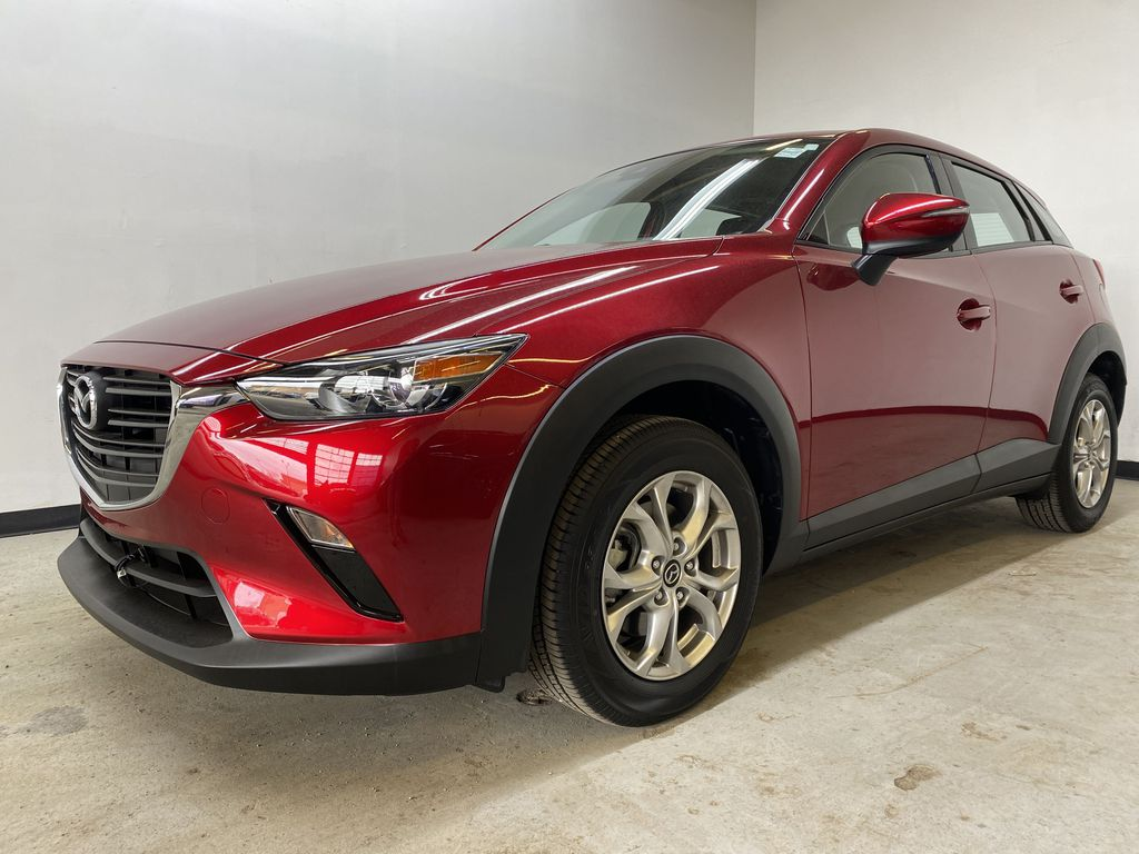 RED 2019 Mazda CX-3 GS - Apple CarPlay, Backup Camera, Heated Seats Left Front Corner Photo in Edmonton AB