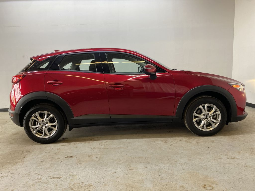 RED 2019 Mazda CX-3 GS - Apple CarPlay, Backup Camera, Heated Seats Right Side Photo in Edmonton AB