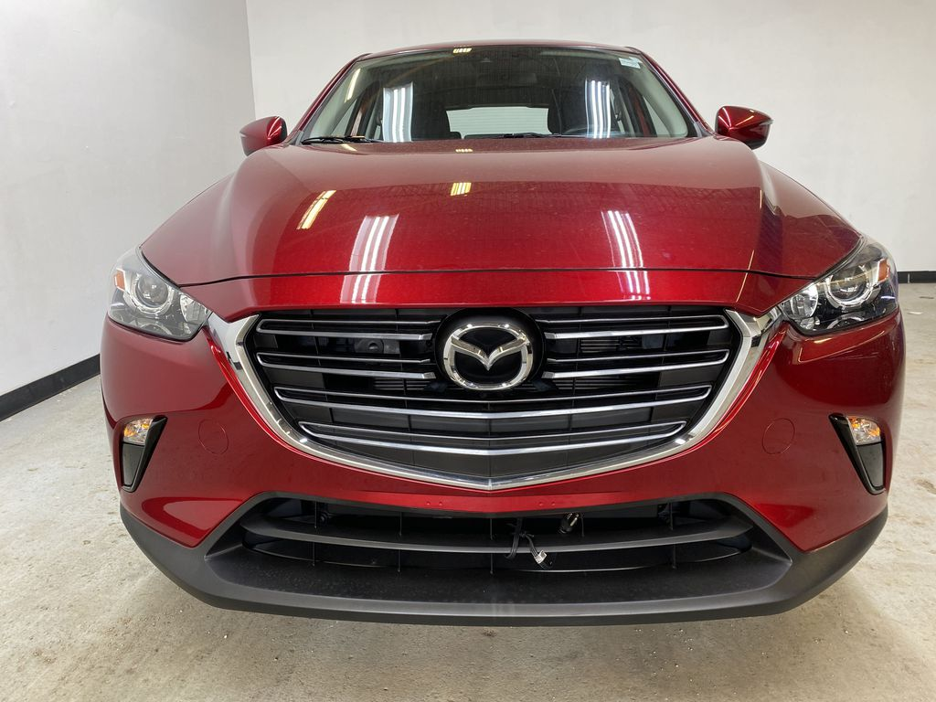 RED 2019 Mazda CX-3 GS - Apple CarPlay, Backup Camera, Heated Seats Front Vehicle Photo in Edmonton AB