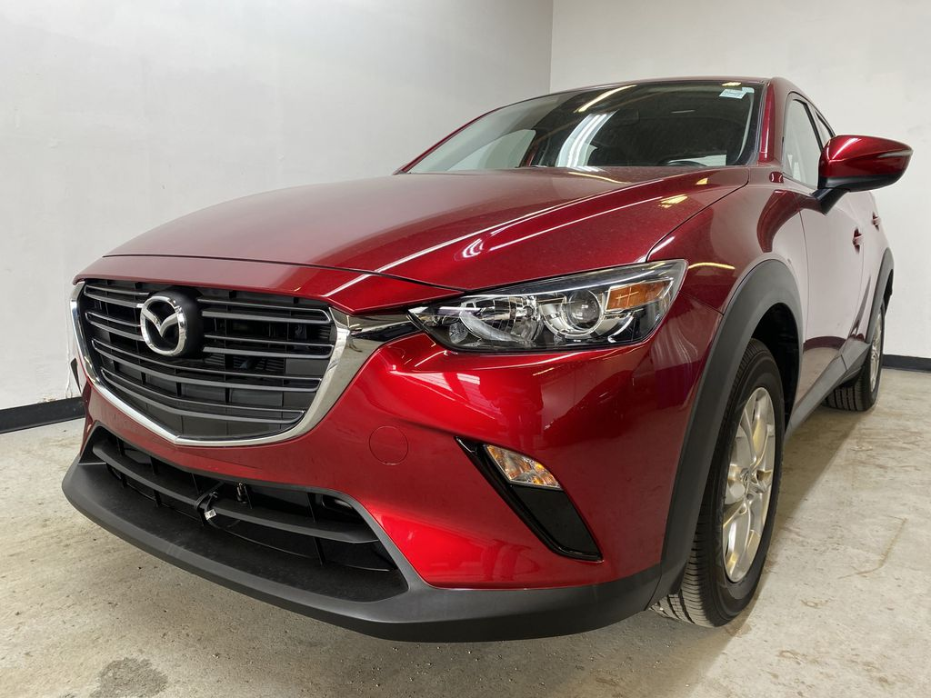 RED 2019 Mazda CX-3 GS - Apple CarPlay, Backup Camera, Heated Seats Left Front Head Light / Bumper and Grill in Edmonton AB