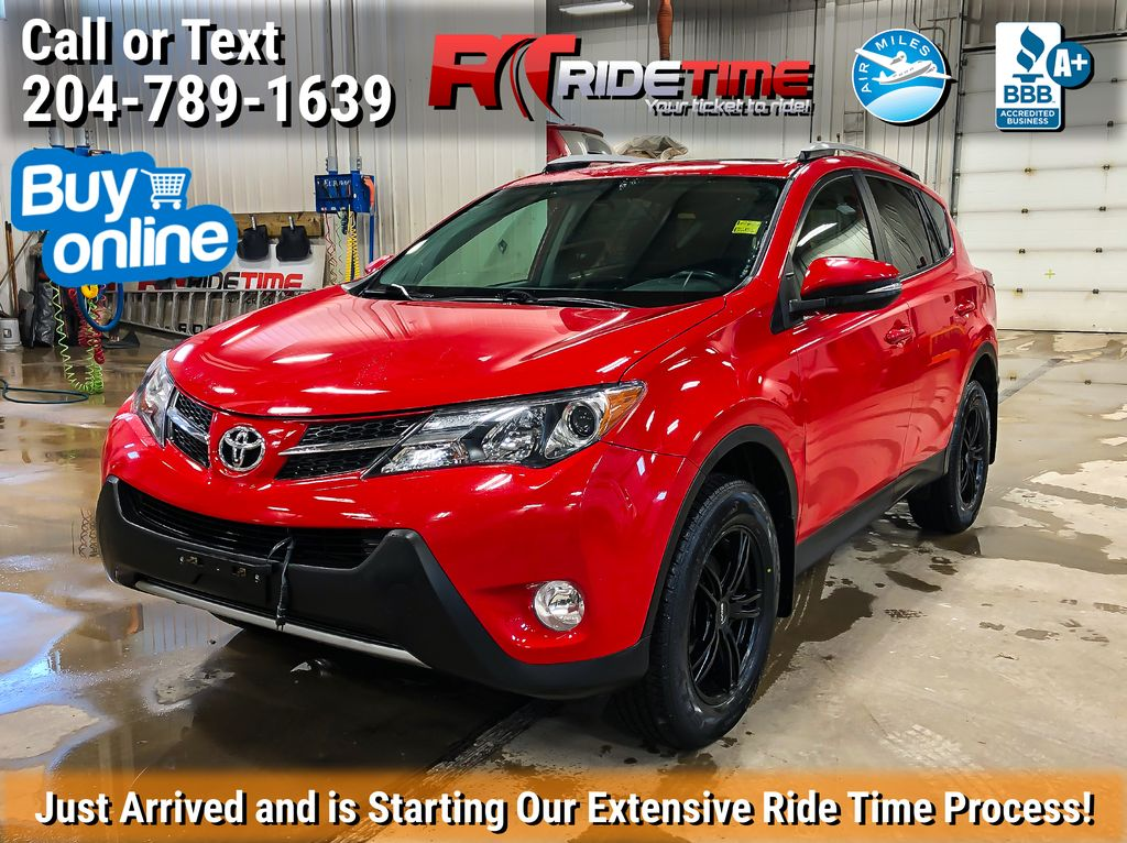 Red[Absolutely Red] 2015 Toyota RAV4 XLE AWD 50th Anniversary - 2 Sets Of Wheels/Tires