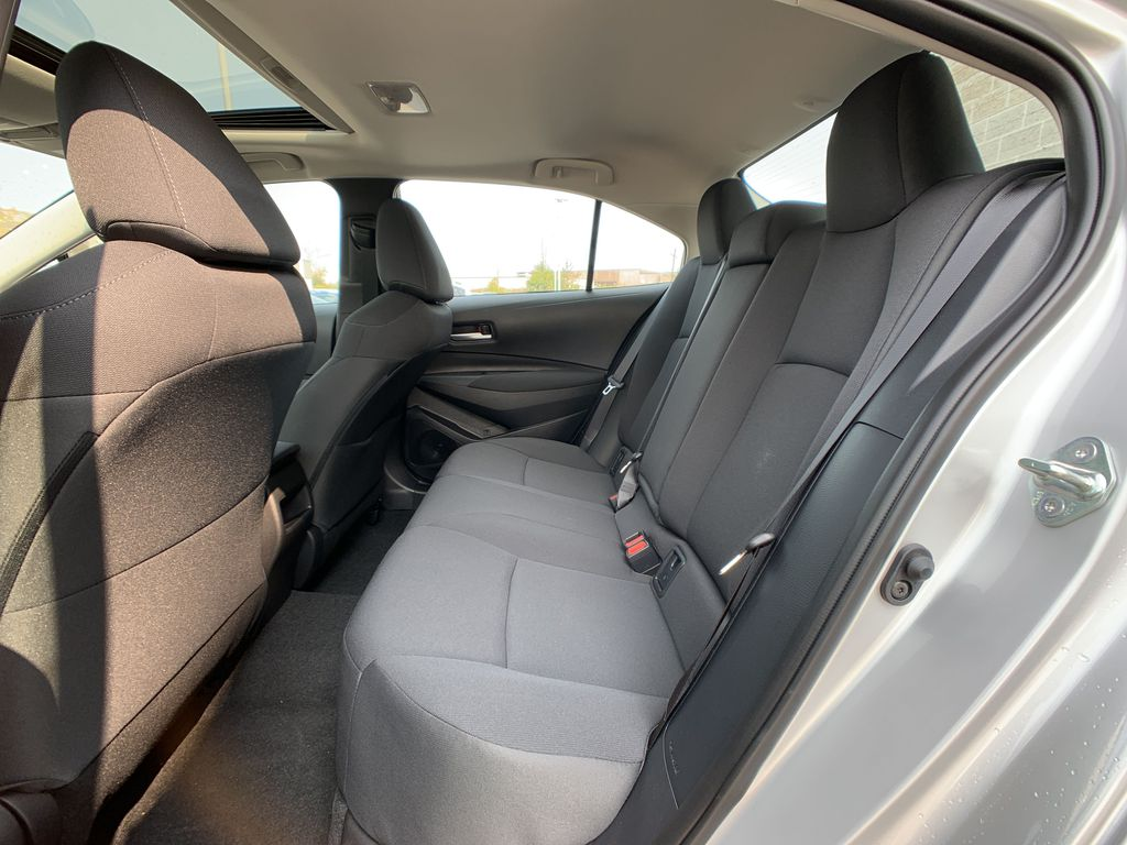 Silver [Classic Silver Metallic] 2021 Toyota Corolla LE Upgrade Package BPRBLC BM Right Rear Corner Photo in Brampton ON