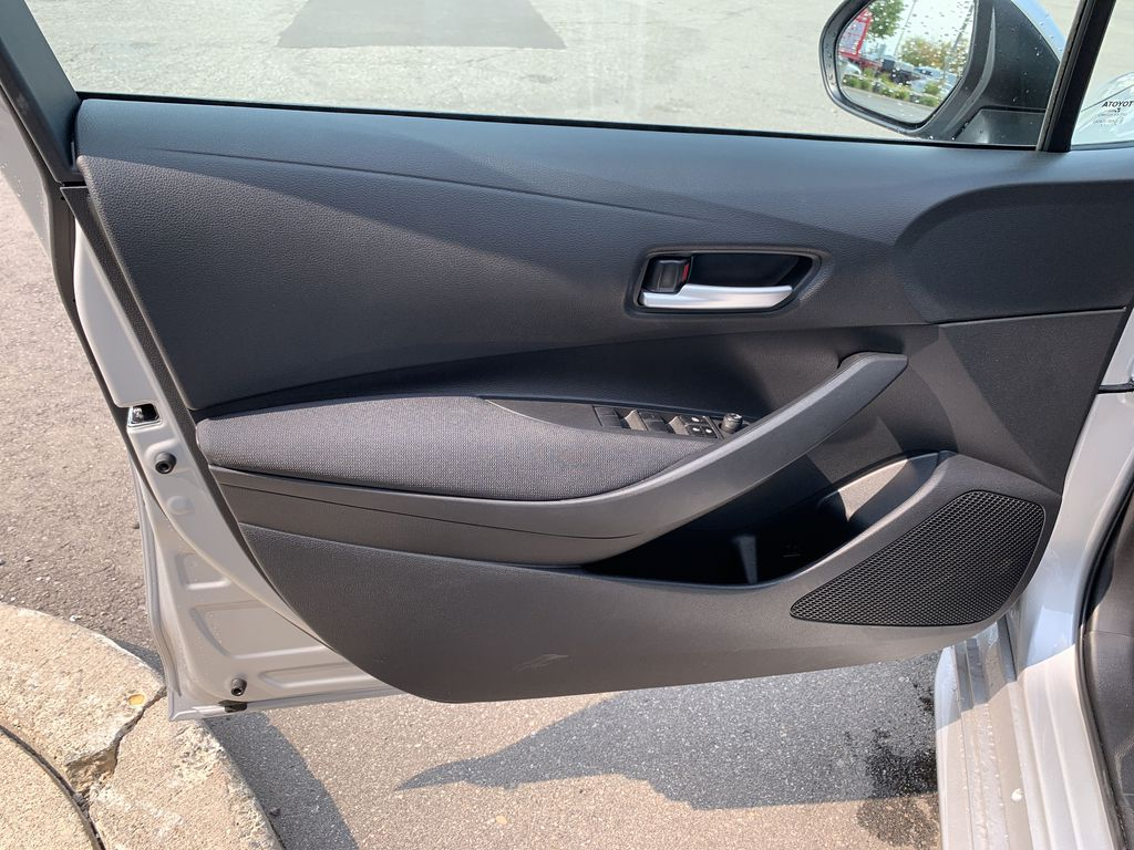 Silver [Classic Silver Metallic] 2021 Toyota Corolla LE Upgrade Package BPRBLC BM Left Rear Interior Door Panel Photo in Brampton ON