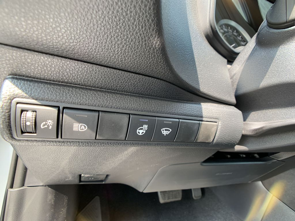 Silver [Classic Silver Metallic] 2021 Toyota Corolla LE Upgrade Package BPRBLC BM Center Console Photo in Brampton ON