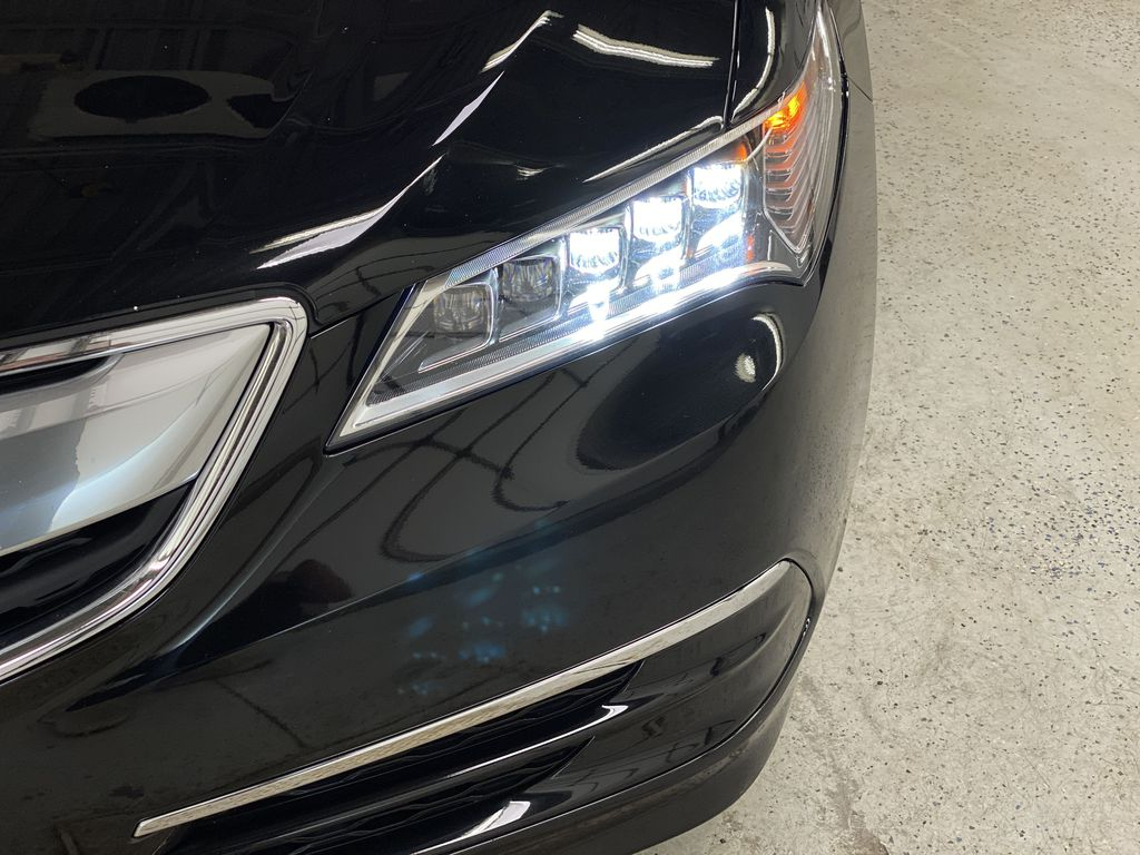 Black[Crystal Black Pearl] 2015 Acura TLX Left Front Head Light / Bumper and Grill in Dartmouth NS