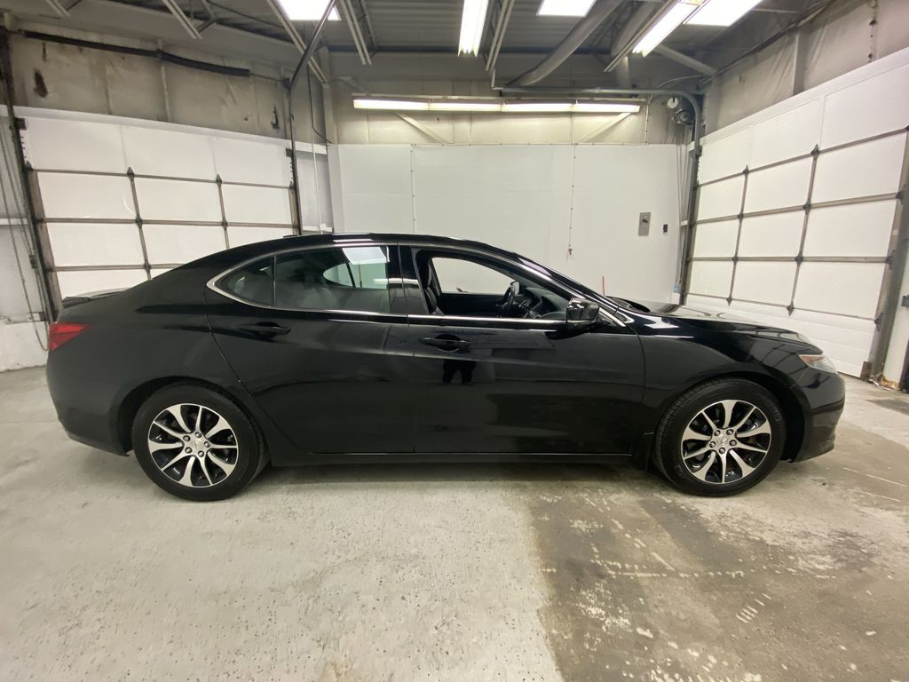 Black[Crystal Black Pearl] 2015 Acura TLX Right Side Photo in Dartmouth NS