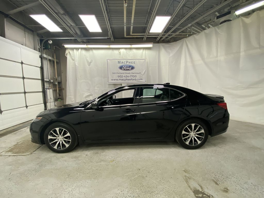 Black[Crystal Black Pearl] 2015 Acura TLX Left Side Photo in Dartmouth NS
