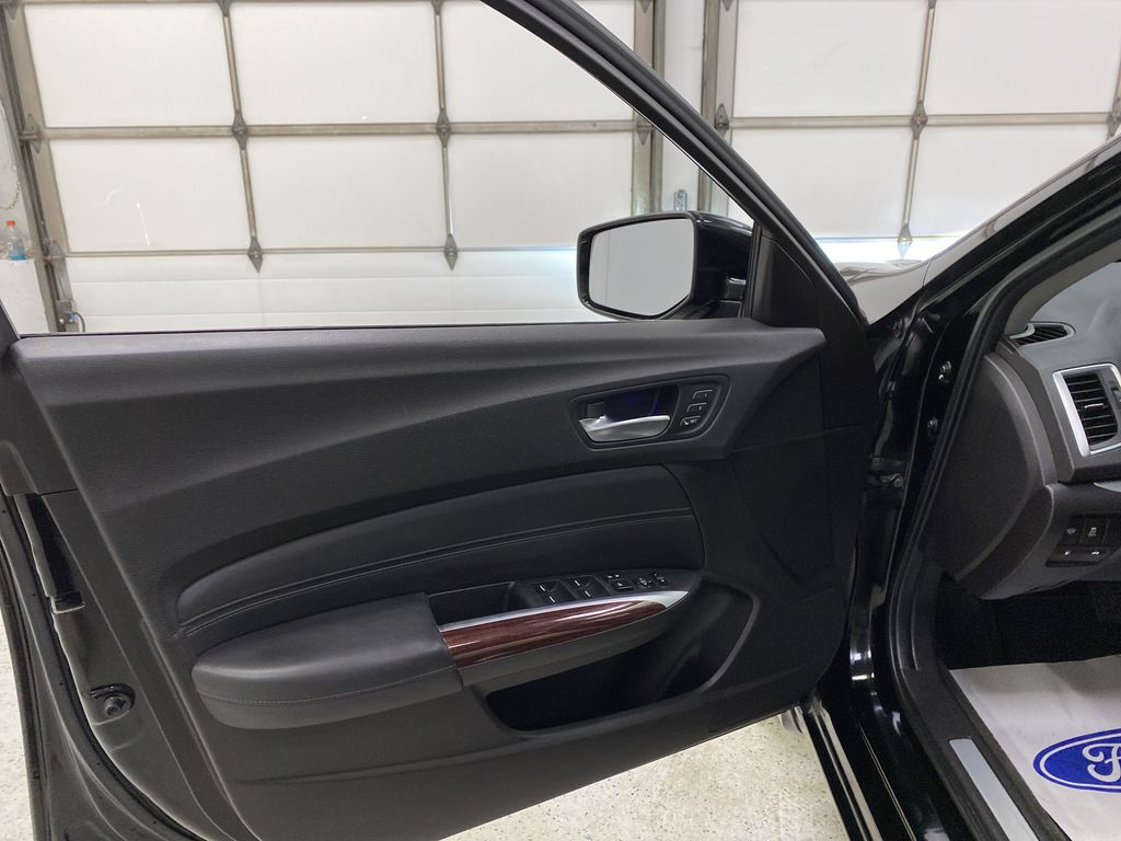 Black[Crystal Black Pearl] 2015 Acura TLX Left Front Interior Door Panel Photo in Dartmouth NS
