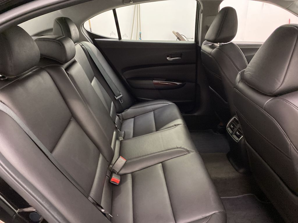 Black[Crystal Black Pearl] 2015 Acura TLX Right Side Rear Seat  Photo in Dartmouth NS