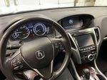 Black[Crystal Black Pearl] 2015 Acura TLX Steering Wheel and Dash Photo in Dartmouth NS