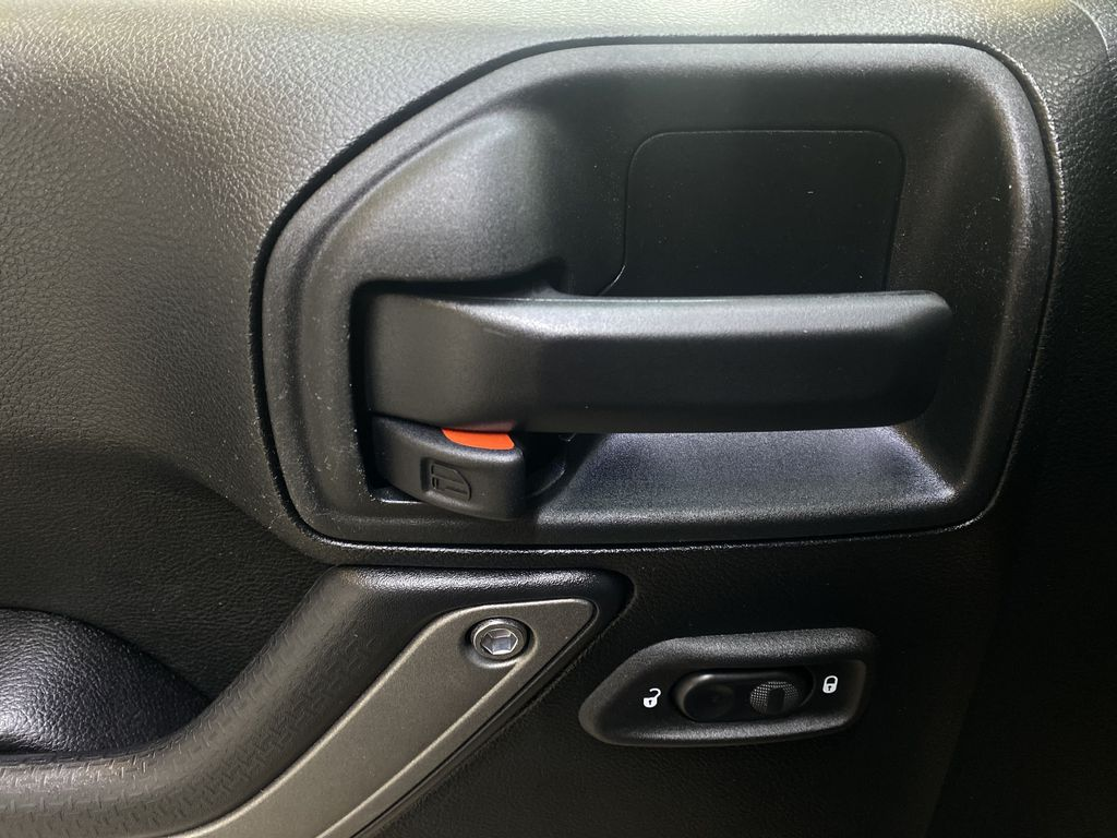 BLACK 2018 Jeep Wrangler JK Unlimited - Bluetooth, XM Radio, Cruise Control  Driver's Side Door Controls Photo in Edmonton AB