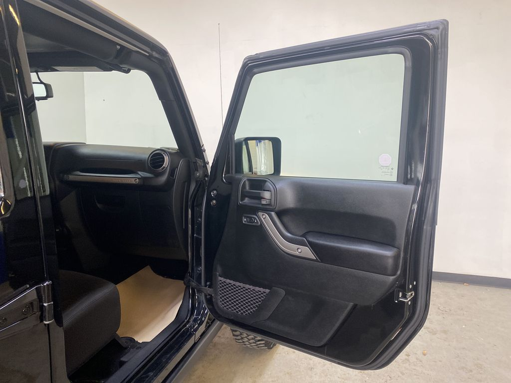 BLACK 2018 Jeep Wrangler JK Unlimited - Bluetooth, XM Radio, Cruise Control Right Front Interior Door Panel Photo in Edmonton AB
