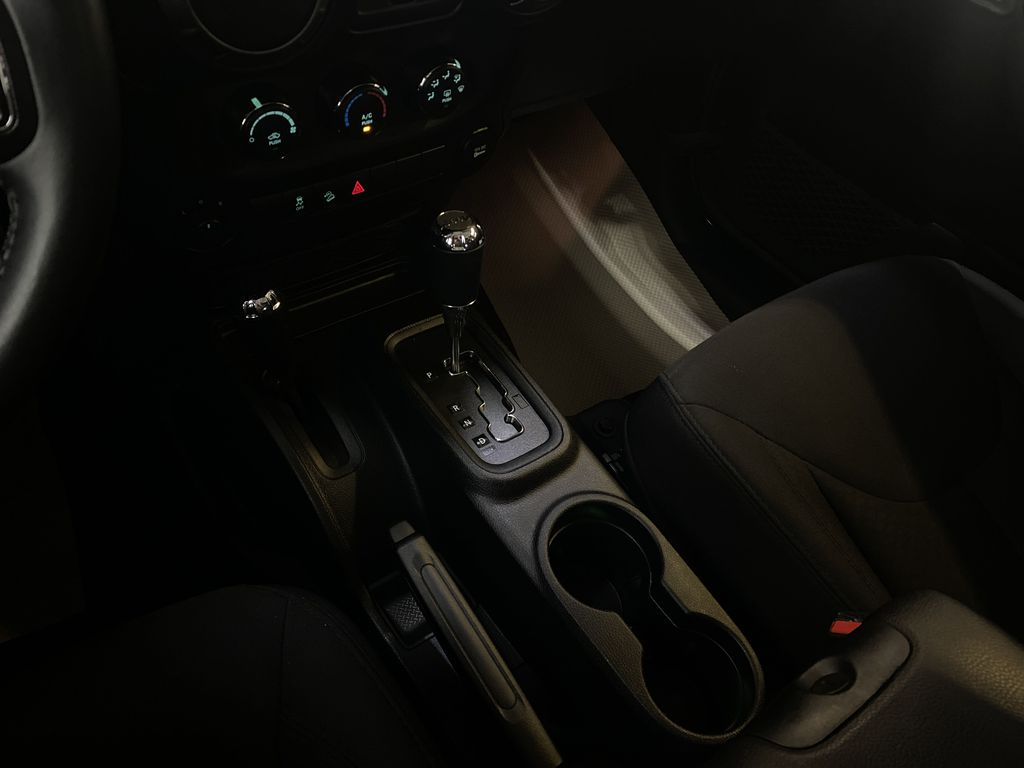 BLACK 2018 Jeep Wrangler JK Unlimited - Bluetooth, XM Radio, Cruise Control Center Console Photo in Edmonton AB