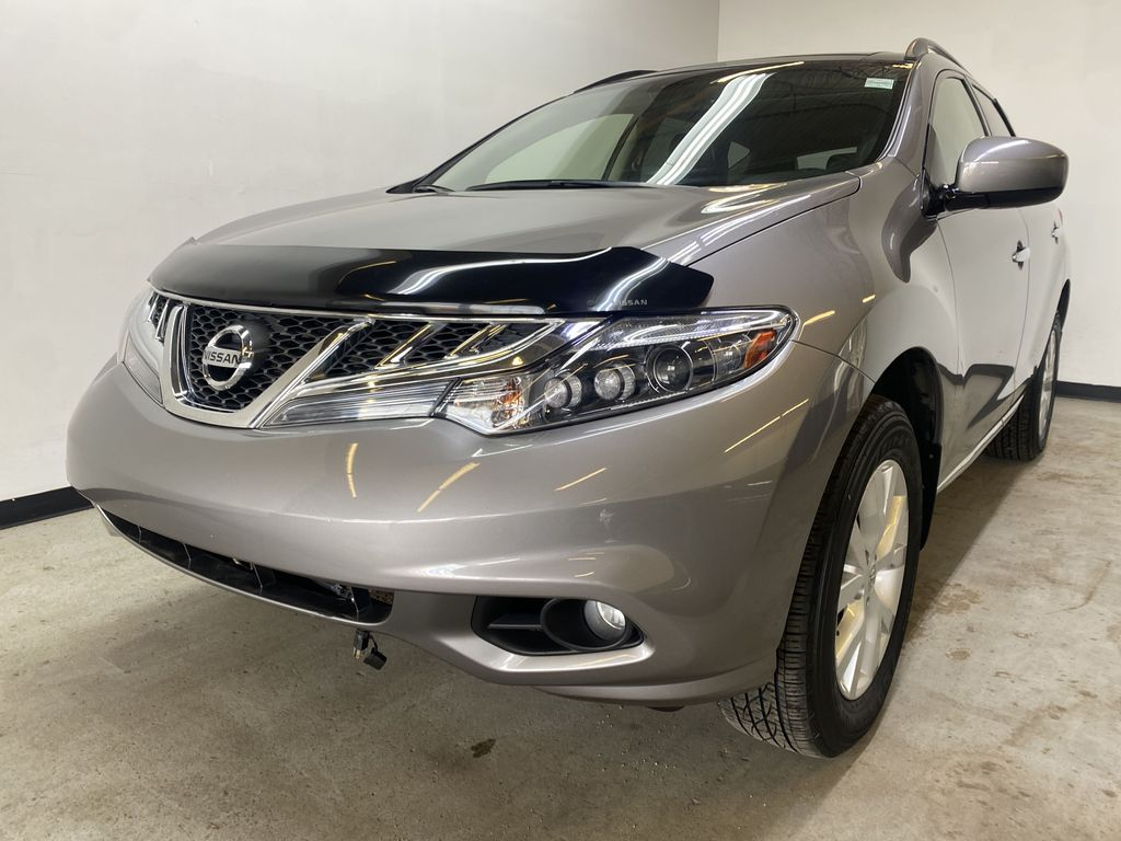 GREY 2012 Nissan Murano - Bluetooth, Backup Camera, Leather, Block Heater Left Front Head Light / Bumper and Grill in Edmonton AB