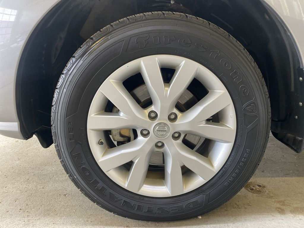 GREY 2012 Nissan Murano - Bluetooth, Backup Camera, Leather, Block Heater Left Front Rim and Tire Photo in Edmonton AB