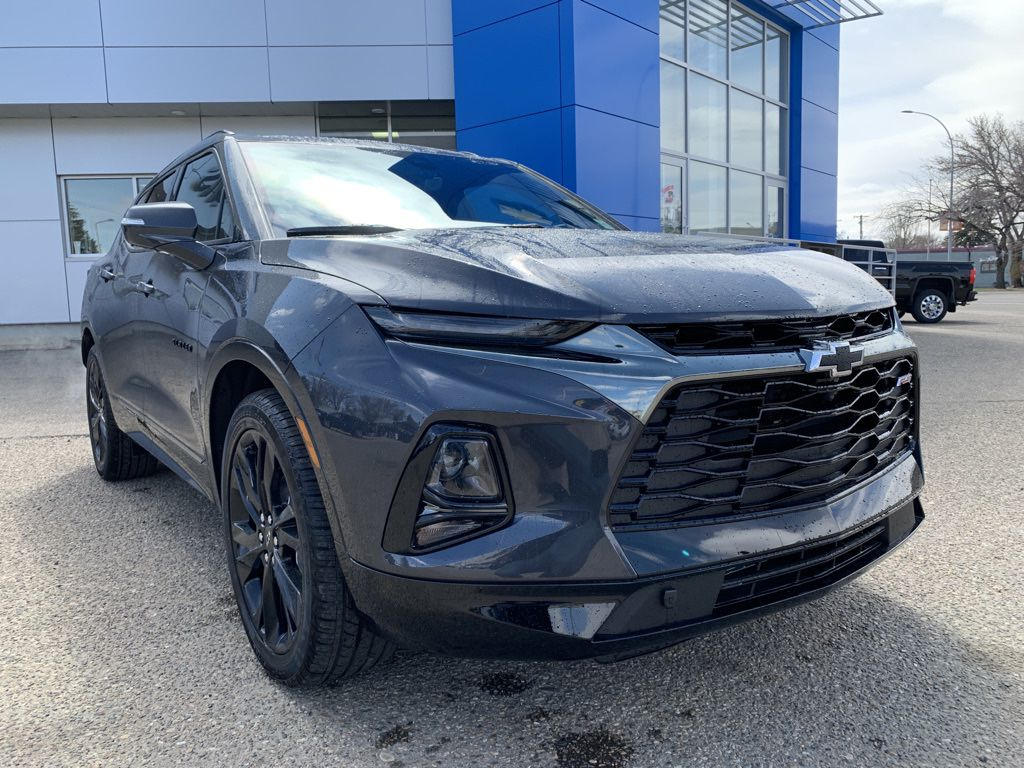 Grey 2021 Chevrolet Blazer Left Front Head Light / Bumper and Grill in Brooks AB