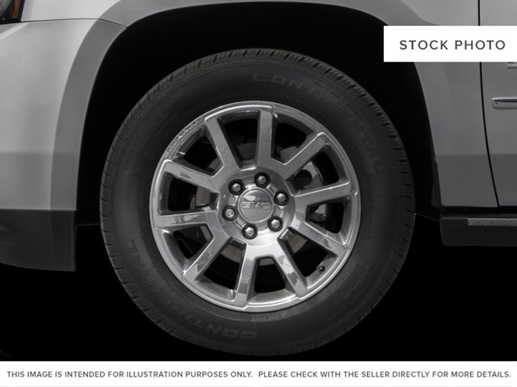 Black[Onyx Black] 2016 GMC Yukon XL Left Front Rim and Tire Photo in Fort Macleod AB