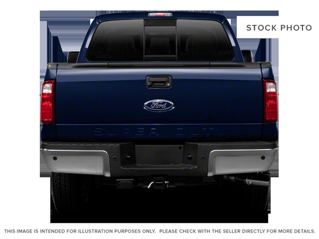Black[Black] 2011 Ford Super Duty F-250 SRW Rear of Vehicle Photo in Fort Macleod AB