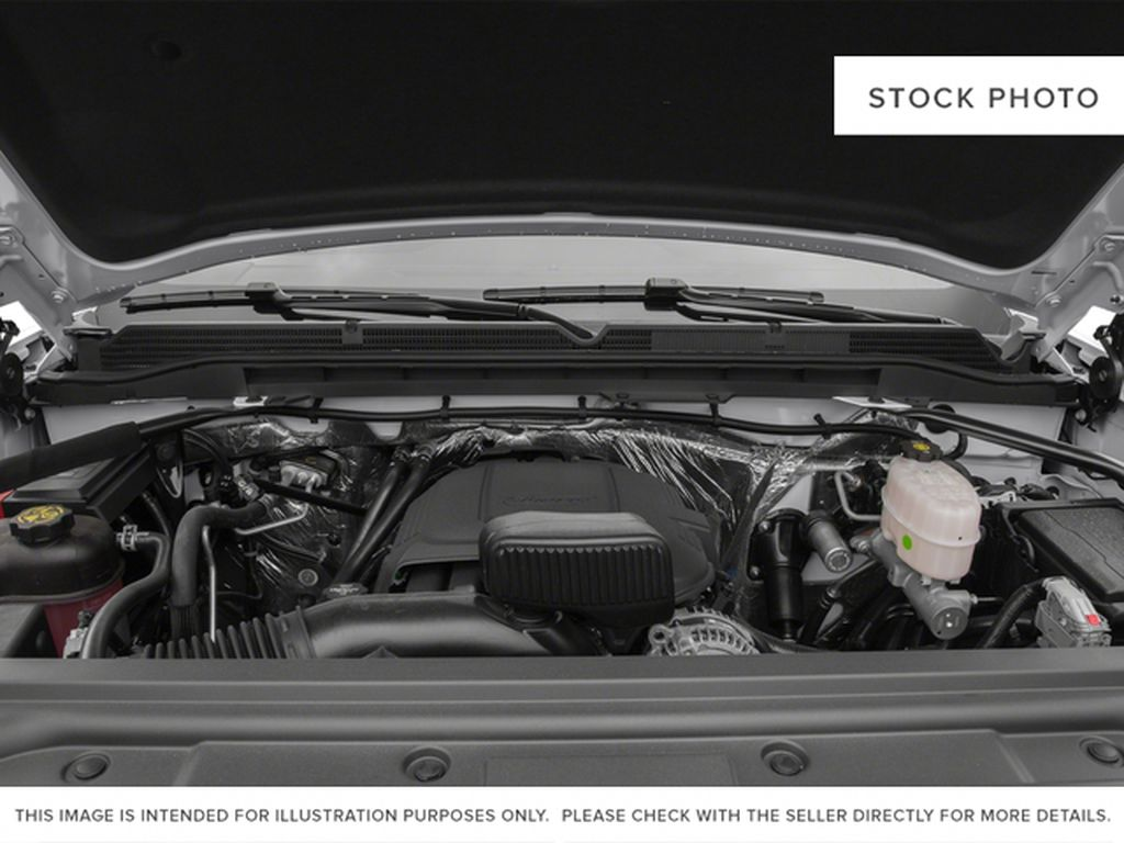 White[Summit White] 2015 GMC Sierra 2500HD Engine Compartment Photo in Fort Macleod AB