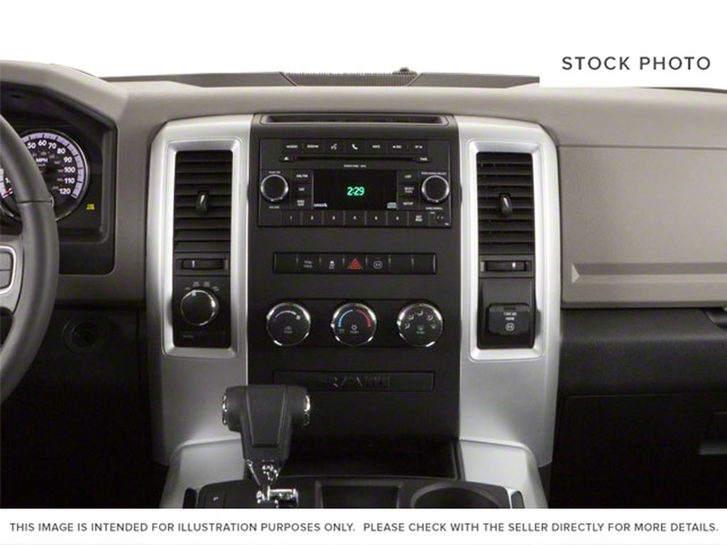 Green[Hunter Green Pearl] 2011 Ram 1500 Central Dash Options Photo in Fort Macleod AB