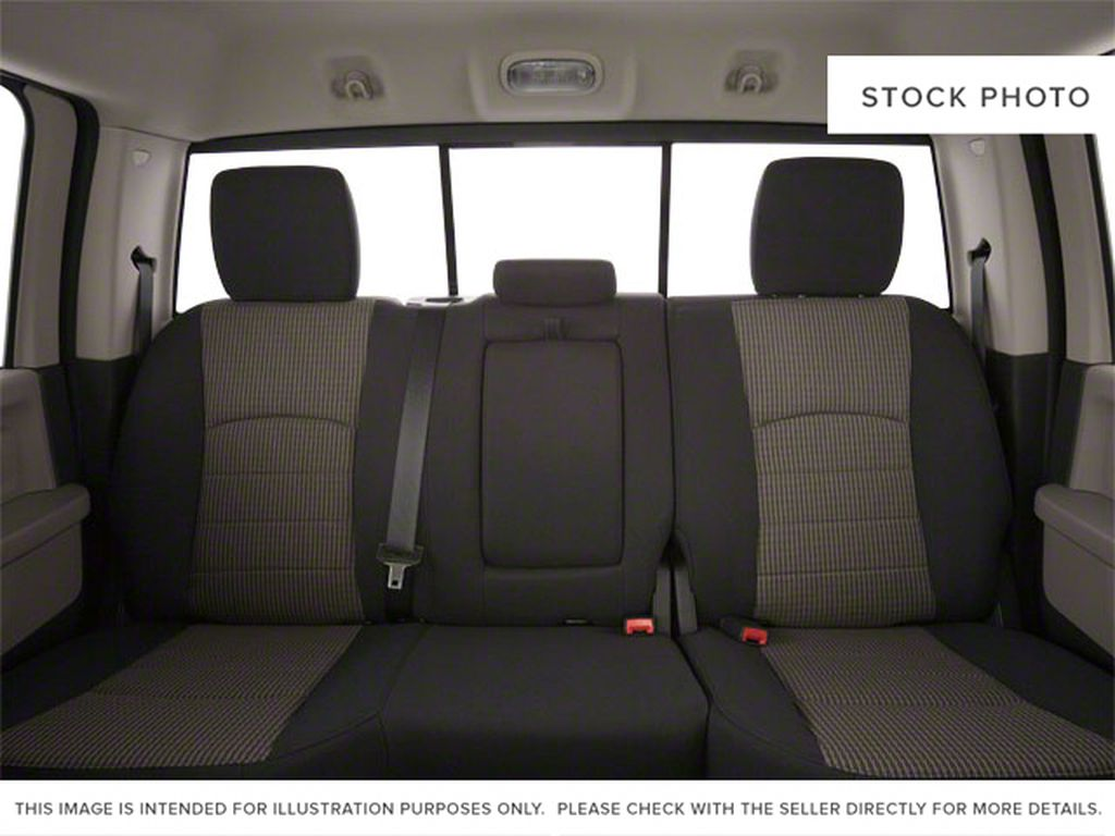 Green[Hunter Green Pearl] 2011 Ram 1500 Left Side Rear Seat  Photo in Fort Macleod AB