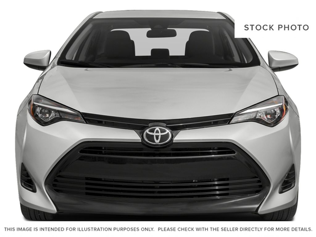 Silver[Classic Silver Metallic] 2018 Toyota Corolla Front Vehicle Photo in Dartmouth NS