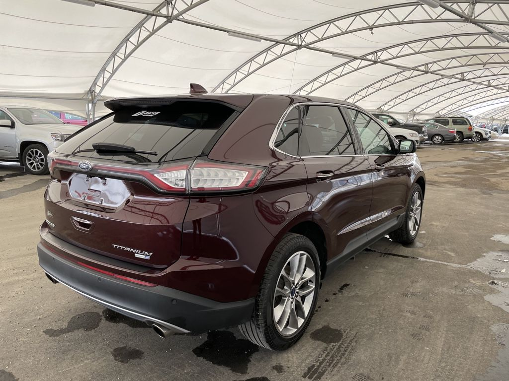 2018 Ford Edge Central Dash Options Photo in Airdrie AB