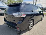 Black 2019 Toyota Sienna Right Rear Corner Photo in Kelowna BC