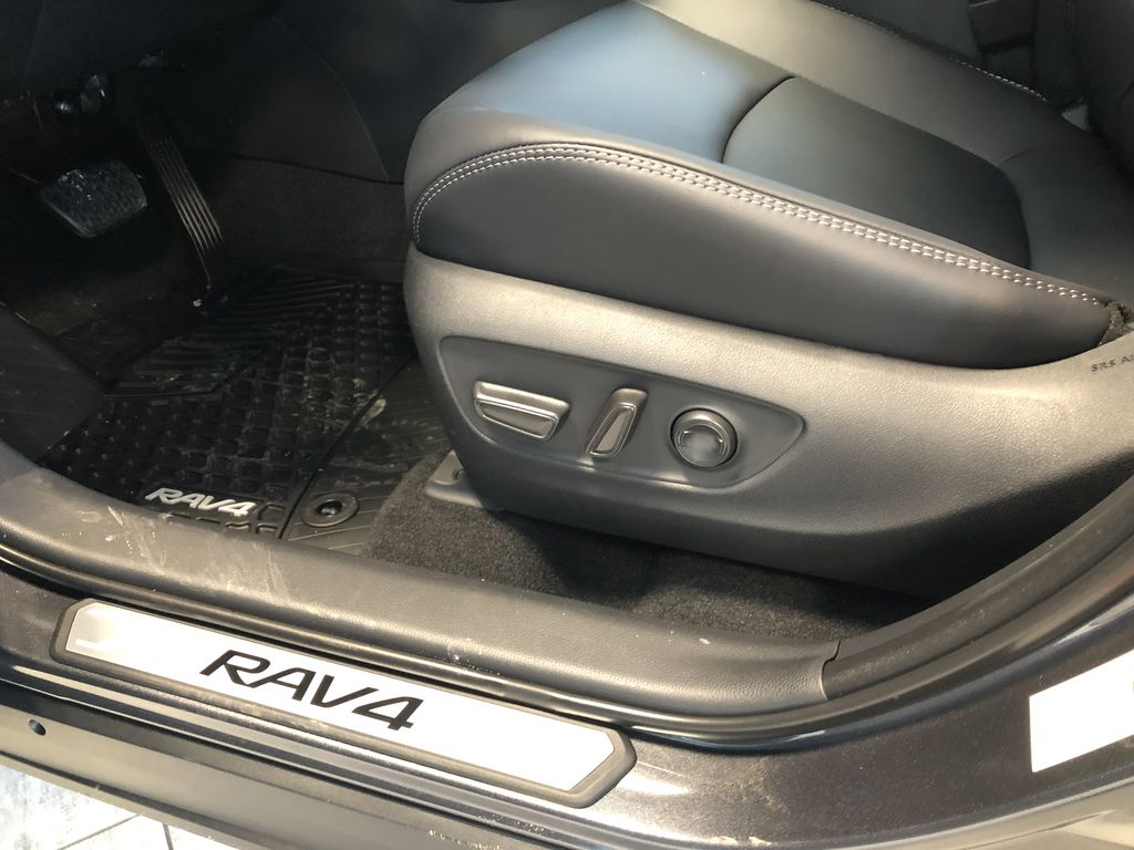 Magnetic Grey Metallic 2021 Toyota RAV4 XLE Premium Fourth Row  Seat  Photo in Edmonton AB