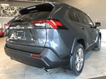 Magnetic Grey Metallic 2021 Toyota RAV4 XLE Premium Rear of Vehicle Photo in Edmonton AB
