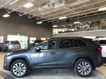 Magnetic Grey Metallic 2021 Toyota RAV4 XLE Premium Left Side Photo in Edmonton AB