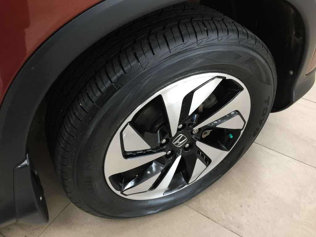 RED 2015 Honda CR-V Touring AWD Right Front Rim and Tire Photo in Sherwood Park AB