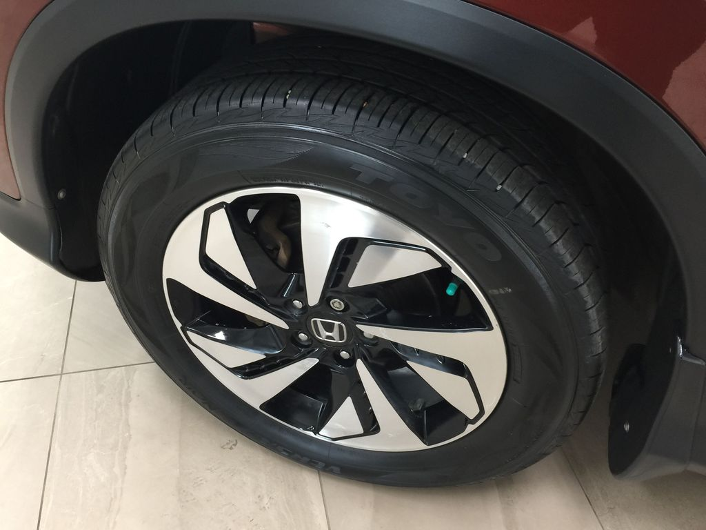 RED 2015 Honda CR-V Touring AWD Left Front Rim and Tire Photo in Sherwood Park AB