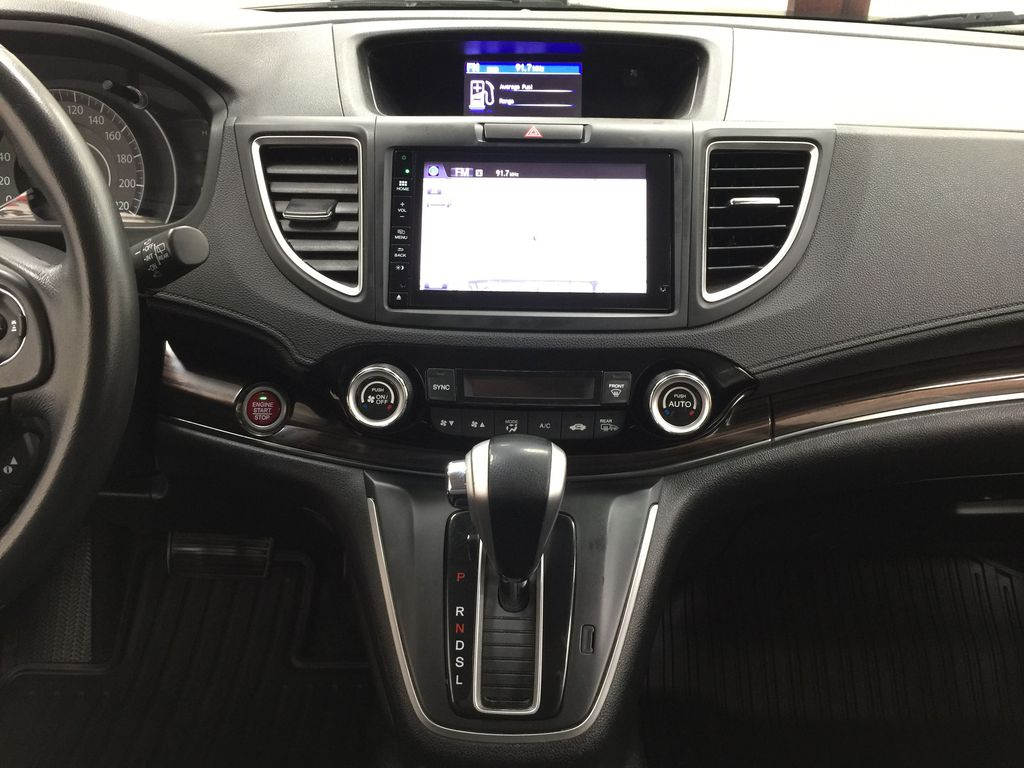 RED 2015 Honda CR-V Touring AWD Central Dash Options Photo in Sherwood Park AB