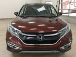 RED 2015 Honda CR-V Touring AWD Front Vehicle Photo in Sherwood Park AB