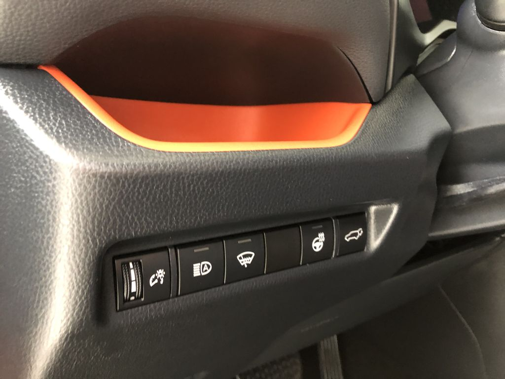 Red 2020 Toyota RAV4 Trail | Toyota Certified Right Side Front Seat  Photo in Edmonton AB