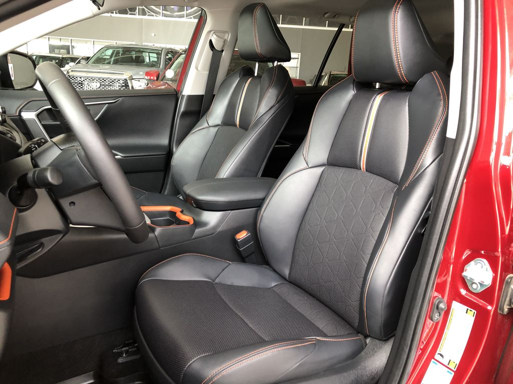 Red 2020 Toyota RAV4 Trail | Toyota Certified Left Driver Controlled Options Photo in Edmonton AB