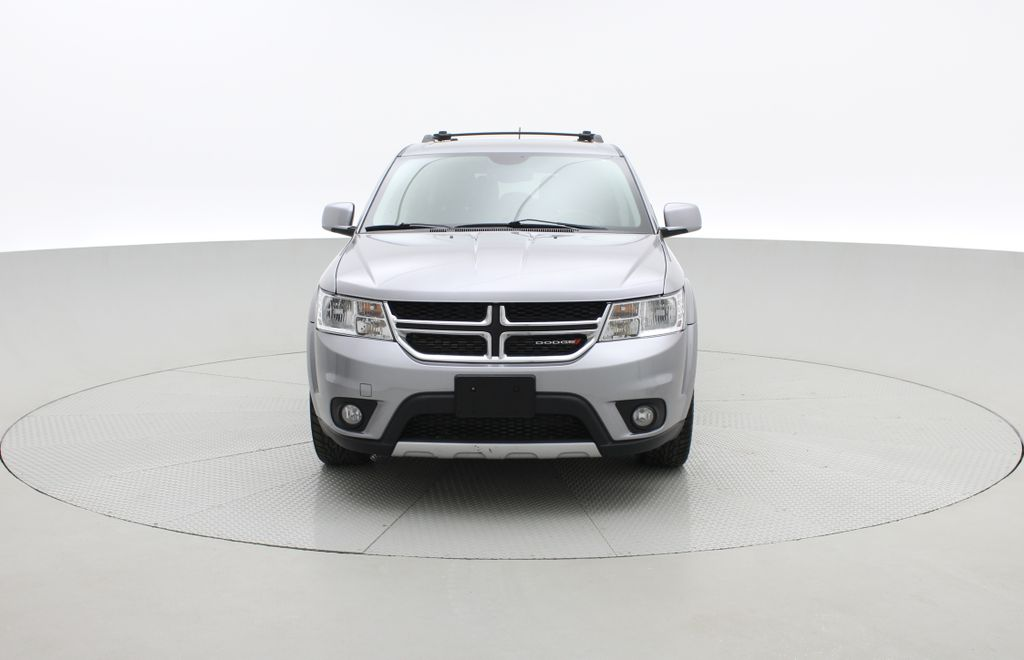 Silver[Billet Silver Metallic] 2016 Dodge Journey  R/T AWD - 7 Passenger, Leather, Rear DVD, NAV Front Vehicle Photo in Winnipeg MB