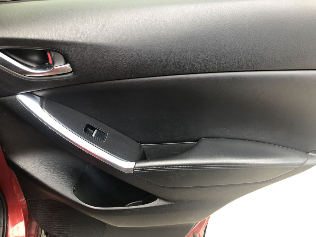 Red[Soul Red Mica] 2016 Mazda CX-5 Right Rear Interior Door Panel Photo in Canmore AB