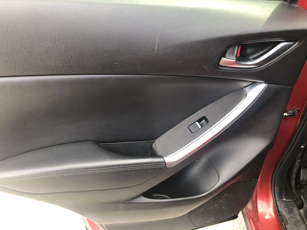 Red[Soul Red Mica] 2016 Mazda CX-5 Left Rear Interior Door Panel Photo in Canmore AB