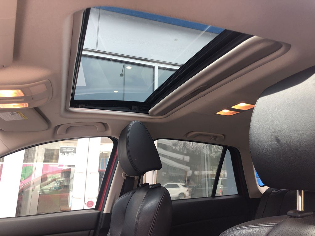 Red[Soul Red Mica] 2016 Mazda CX-5 Sunroof Photo in Canmore AB