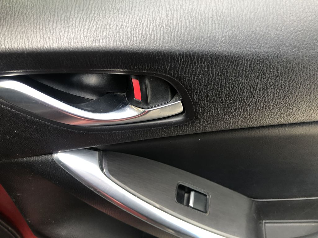 Red[Soul Red Mica] 2016 Mazda CX-5 Passenger Rear Door Controls Photo in Canmore AB