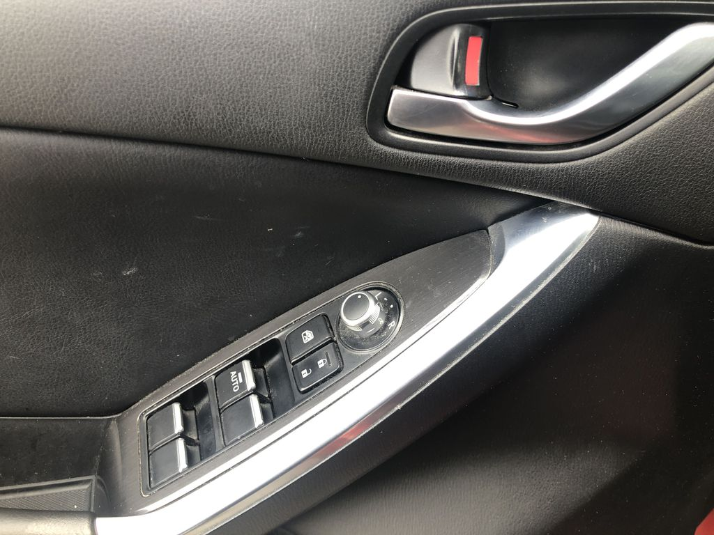 Red[Soul Red Mica] 2016 Mazda CX-5  Driver's Side Door Controls Photo in Canmore AB