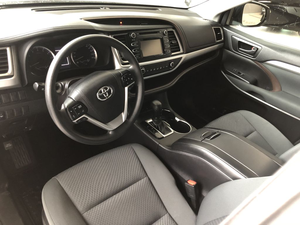 White 2018 Toyota Highlander LE | Toyota Certified Left Driver Controlled Options Photo in Edmonton AB